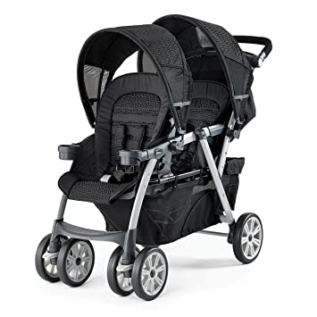 9ac24e077 Amazon.com : Chicco Cortina Together Double Stroller, Ombra : Baby