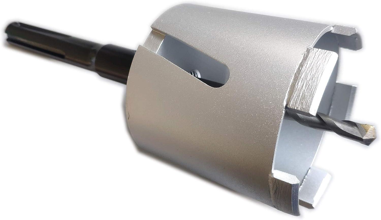 SDS MAX Dosensenker DM 82 mm mit M16 Gewinde Diamantbohrkrone