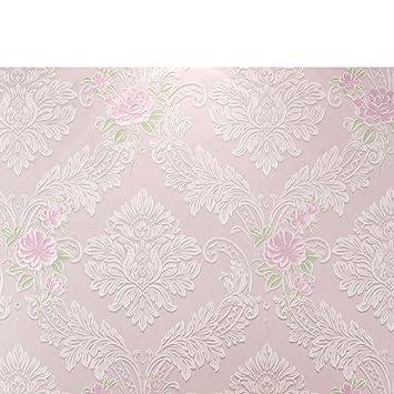 Wallpaper/Schlafzimmer Tapeten/die Europäische Vliestapete/romantische Rosa  Tapete/living Tapete/
