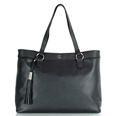 bb63271a3ff5 Armani Jeans Black U524A.A3 Women s Shoulder Bag Black Leather ...
