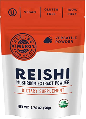 Vimergy USDA Organic Reishi Extract Powder 50g
