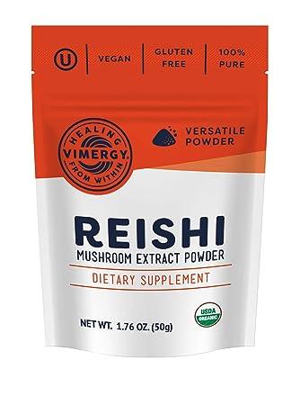 Vimergy USDA Organic Reishi Extract Powder 50g