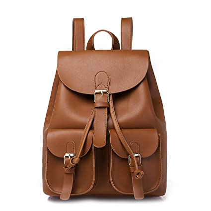 db70a956774c WUSHIYU Women Backpack Fashion School Leather Backpack Crossbady Shoulder  Bag Mini Backpack for Women   Teenage