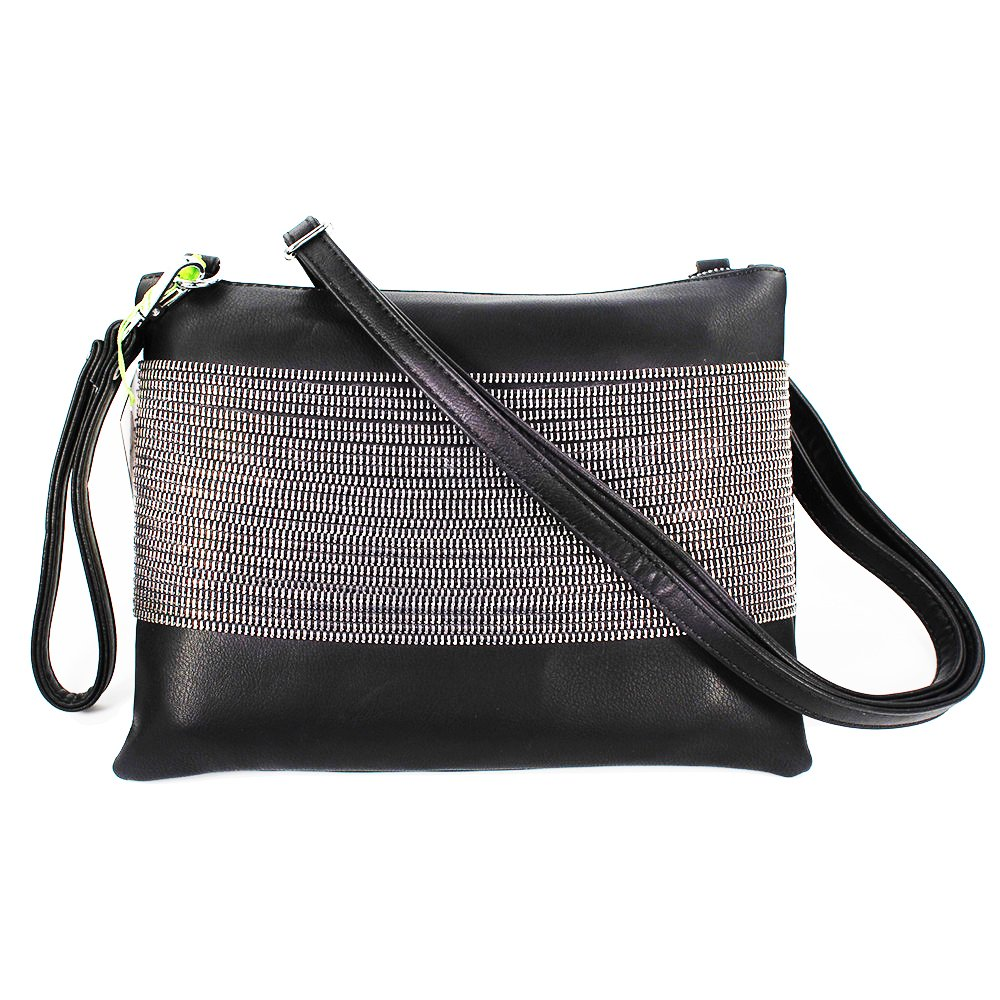 3101eabc807 Elegant Daily Casual Clutch Bag Purse For Women 2018, Womens Leather Party  Wristlet Handbag Black Clutch Purses for Women: Handbags: Amazon.com