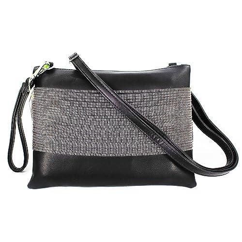 bb94989640 Elegant Daily Casual Clutch Bag Purse For Women 2018, Womens Leather Party  Wristlet Handbag Black