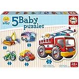 Educa - 14866 - Puzzle - Véhicules