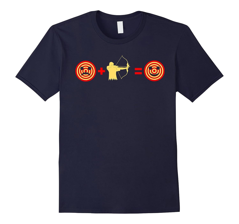 Bow Hunting Shirt Archery Makes Me Happy T-Shirt-FL