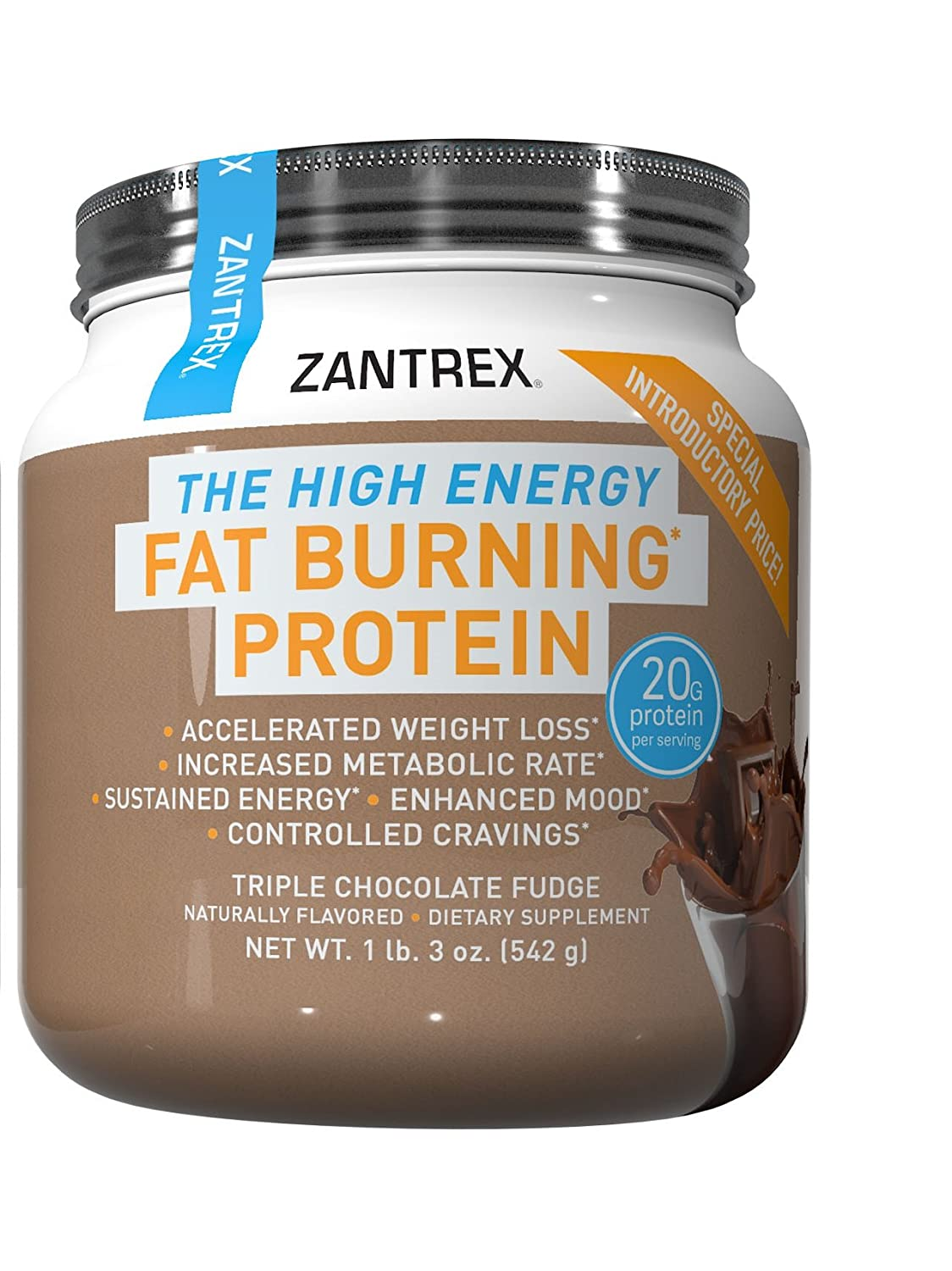 Zantrex Fat Burning Protein- High-Quality Formula for Max ...