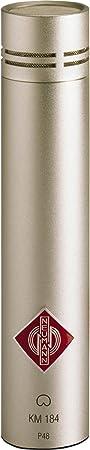 Neumann KM 184 Small Diaphragm Condenser Microphone Satin Nickel