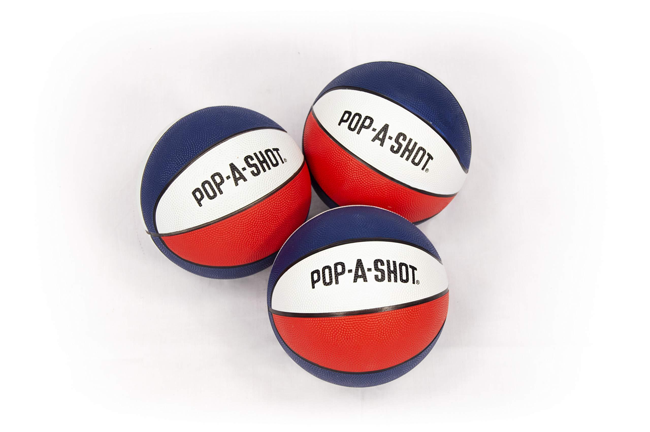 Pop-A-Shot Official Mini Basketball-Pack of 3 by Pop-A-Shot