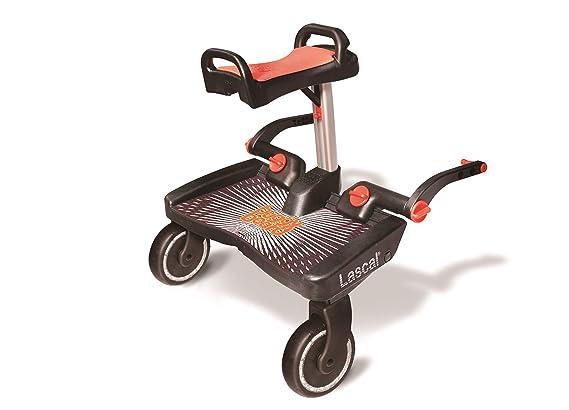 Lascal Buggy Board Maxi + Black/Red - Plataforma para carrito: Amazon.es: Bebé