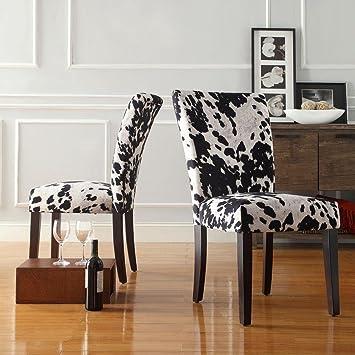 Astounding Amazon Com Whitmire Parson Fabric Dining Chair In Black Squirreltailoven Fun Painted Chair Ideas Images Squirreltailovenorg