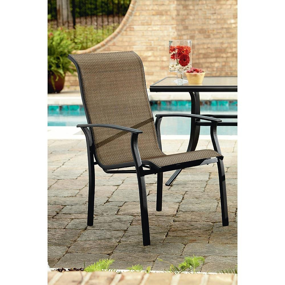 Perfect Amazon.com : Durango 7 Piece Patio Dining Set, Includes 4 Stationary  Chairs, 2 Swivel Chairs And A Rectangular Dining Table (umbrella Sold  Separately) ...