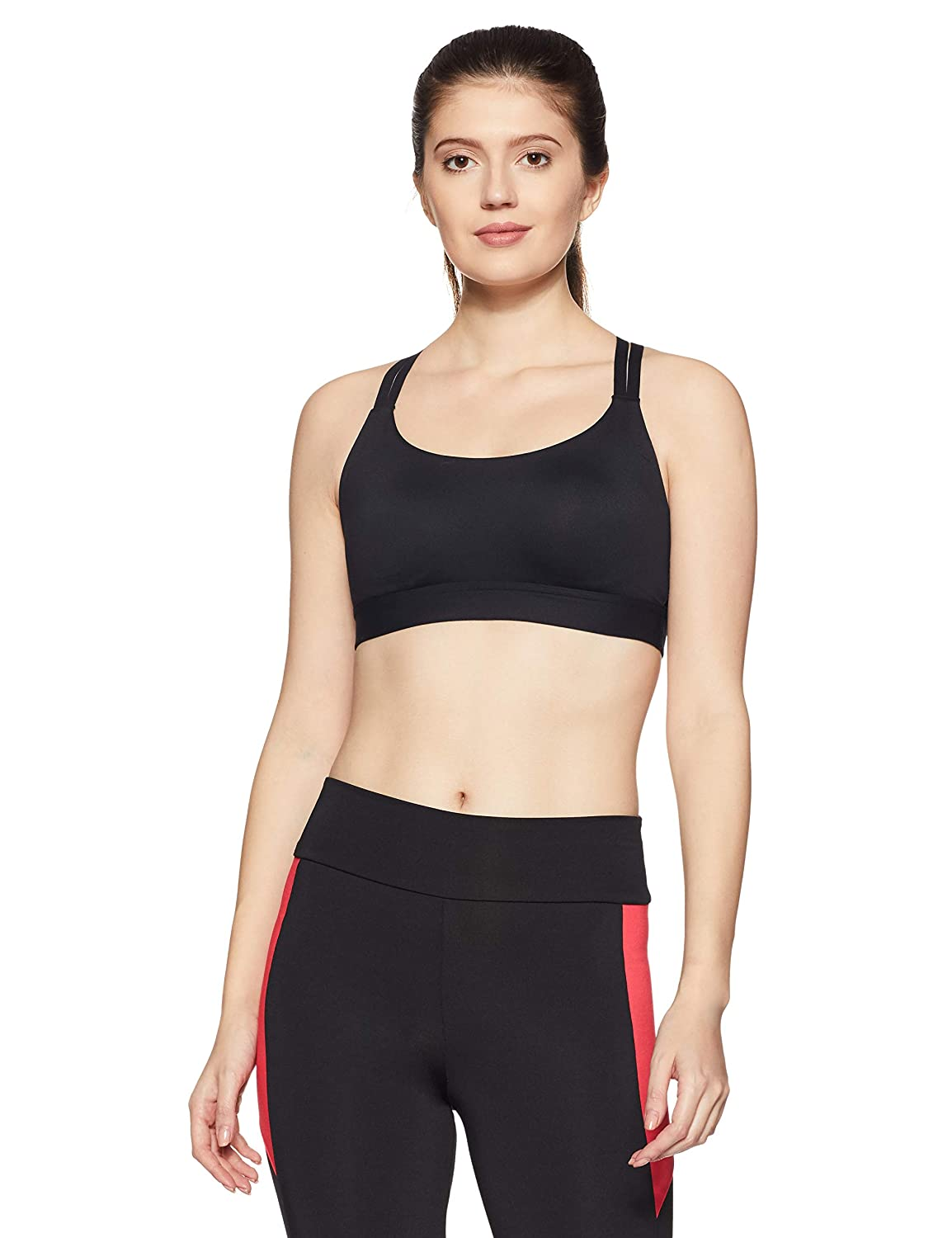 b196a569ac Amazon.com  Under Armour Womens Armour Eclipse Low Impact Sports Bra  Sports    Outdoors