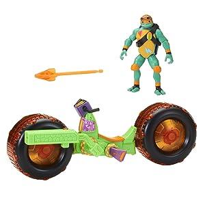 Teenage Mutant Ninja Turtles Shell Hog with Michelangelo