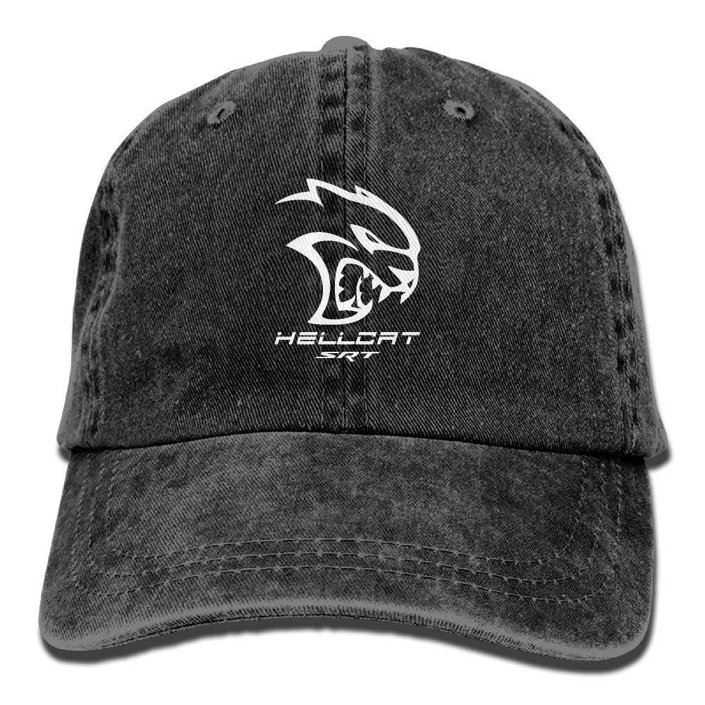WiNjTyMOYO Dodge Hellcat SRT Unisex Baseball Cap Trucker Hat Adult Cowboy Hat Hip Hop Snapback