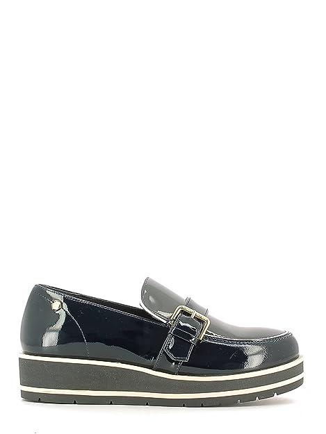Tommy Hilfiger Fw56821796 Mocasines Mujer Azul, Talla 38: Amazon.es: Zapatos y complementos