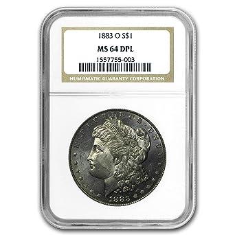 1883 Morgan Dollar MS64 NGC
