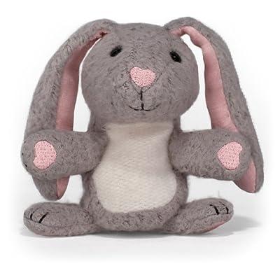 "Apple Park Picnic Pal Organic 4"" Finger Puppet, Bunny : Plush Toys : Baby"
