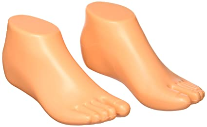 Amazon Com Uxcell Femamle Pair Feet Mannequin Foot Display Dummy