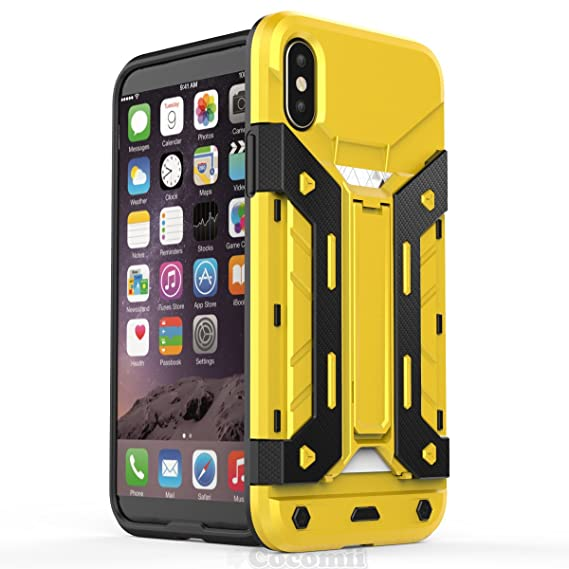 Cocomii Transformer Armor Iphone Xs Iphone X Case New Heavy Duty Built In Multi Card Holder Kickstand Shockproof Bumper Military Defender Full