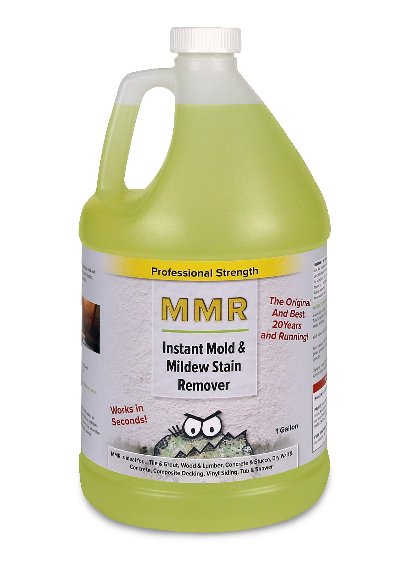 MMR Professional Strength Instant Mold and Mildew Stain Remover 1 Gallon