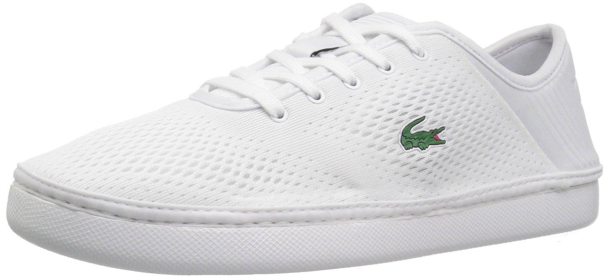 Lacoste Men's L.ydro Lace Sneakers,White/White Textile,12 M US
