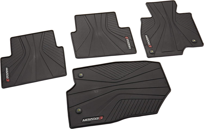 Car Floor Mats Front /& Rear Liner Waterproof Auto Mat For Mazda 3 M3 2014-2020