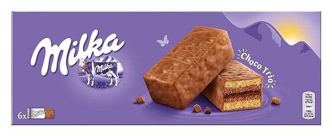 Milka - Preparado para Tarta Suave Chocolate Con Leche, 150 g ...
