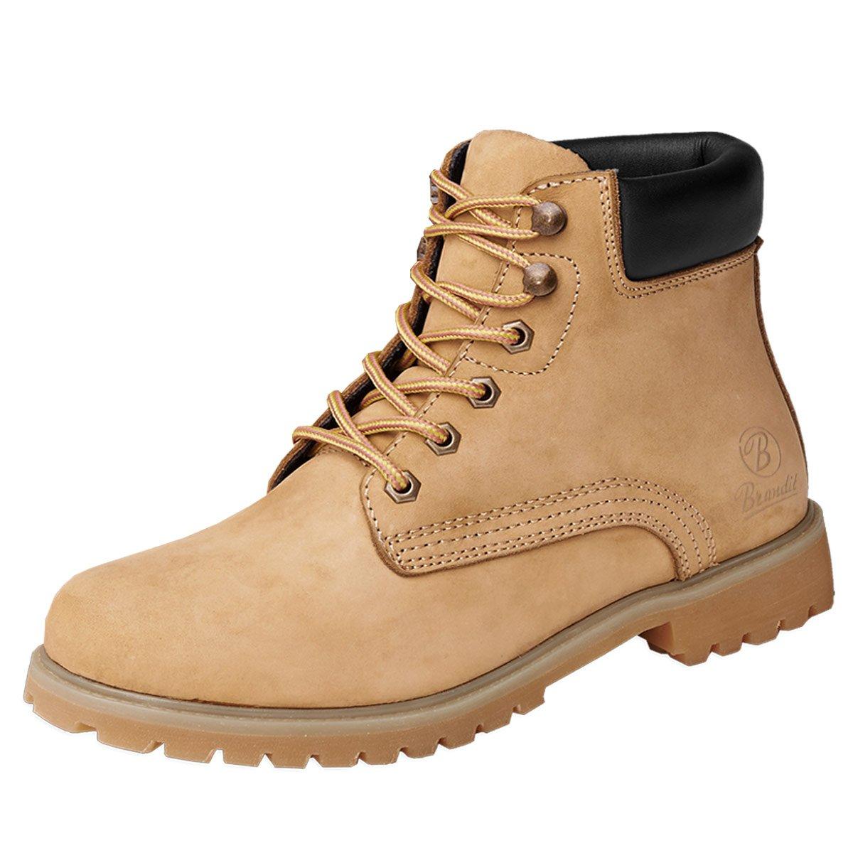 BranditKenyon - zapatos con cordones Hombre 46 EU|Beige - beige camel