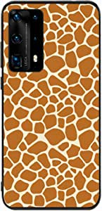 Okteq Back cover Compatible with Huawei P40 Pro - african skin By Okteq