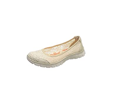 Dames Flex Ez 3.0 Beautify Ballerines Fermé, Rose Skechers