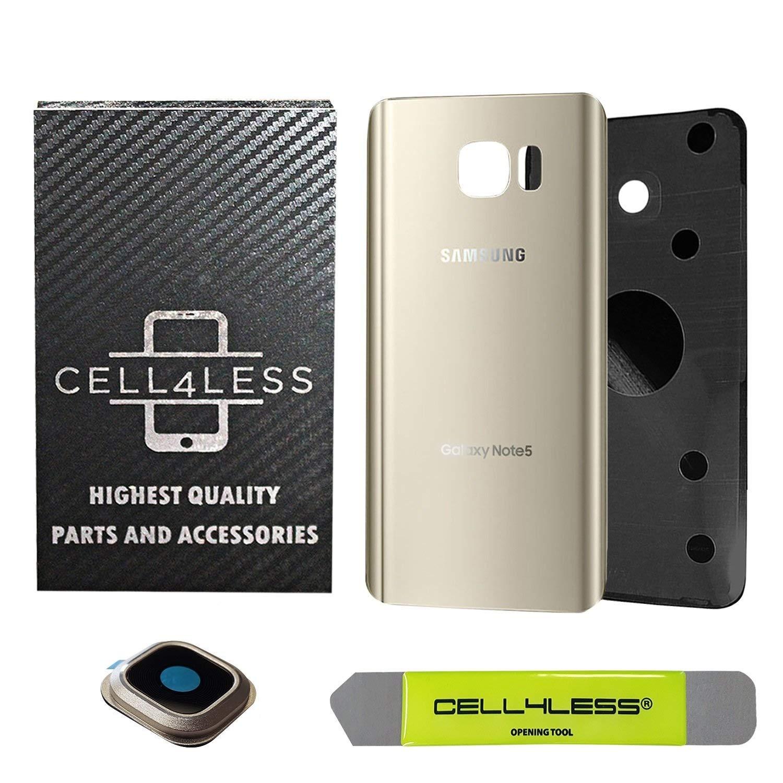 repuesto parte trasera samsung Galaxy Note 5 dorado