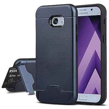 Samsung Galaxy A5 2017 Funda, echoTREE 2en1 TPU Suave Silicona Carcasa [Rugged Armor] Protección Integral Elástico Cubierta Resistente Bumper para ...