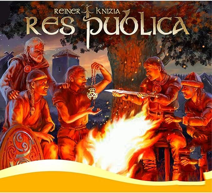 GWLTV Juego de Mesa nación -Res Publica Informal Inglés Family Game Party: Amazon.es: Hogar