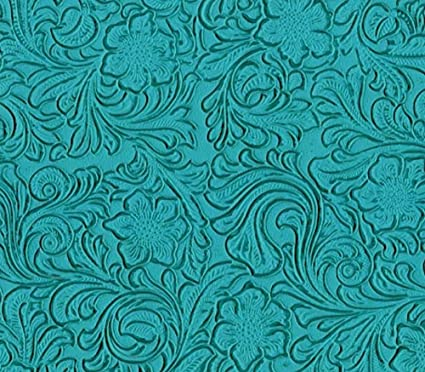 Vinyl Fabric Laredo TURQUOISE Fake Leather Upholstery / 54u0026quot; Wide /  Sold By ...