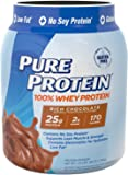 Pure Protein 100% Whey Powder Rich Chocolate, 1.75 pounds
