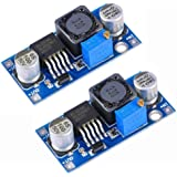 Gowoops 2PCS of Boost Converter Module XL6009 3-30V to 4-35V DC-DC Output Voltage Adjustable Step up Circuit Board 400KHz Big Current 4A
