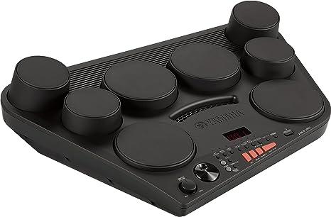 Yamaha DD-75 - Batería electrónica portátil con 8 pads de batería sensibles a la pulsación, conjunto con control de volumen y conexión para ...