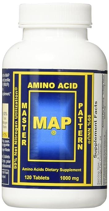 Map Amino Acids Amazon.com: Master Amino Acid Pattern (MAP): Health & Personal Care Map Amino Acids