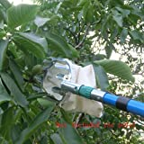 Fruit Picker, argento leggero Fruit Picker cestino swop-top testa per raccolta di Apple Orange Pear Picking Tool