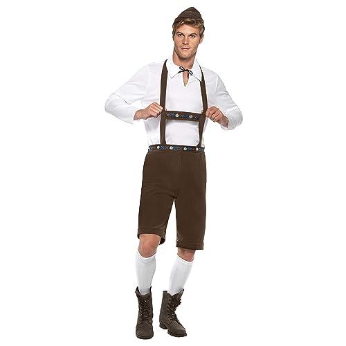 Smiffy's Oktoberfest Bavarian Man Costume - MEDIUM