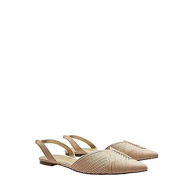next Femme Chaussures Ouvertes À L'Arrière en Deux Parties