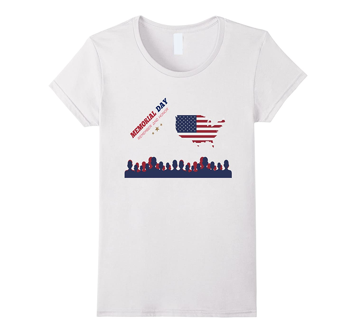 Heroes in our Memory Thank you Veterans DAD T-Shirt