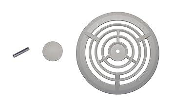 NuTone S99111332AMZ Bathroom Fan Cover, White