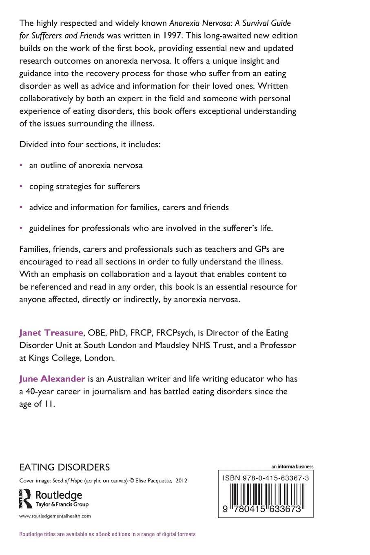 Anorexia Nervosa: Amazon.co.uk: Janet Treasure, June Alexander:  9780415633673: Books