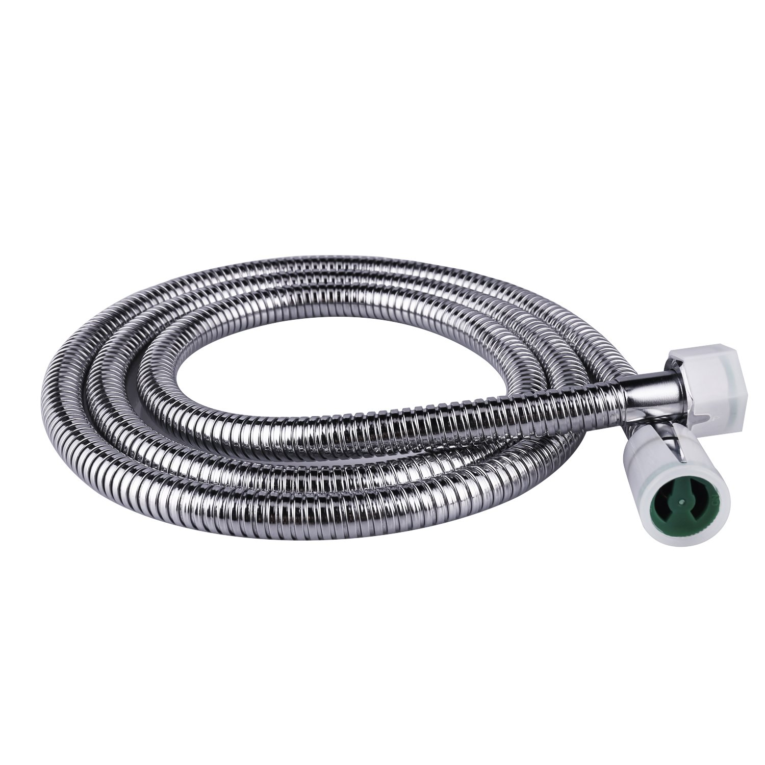 Flexible Shower Hose for HandHeld Showerhead 1.6m Stainless Steel Shower Head Hose Standar G1/2 Swivel Connector Shower Tube/Shower Pipe,Polished Chrome