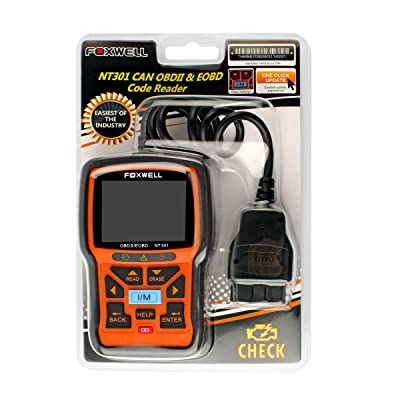 Foxwell NT301 diagnostic code reader is well-designed that is durable
