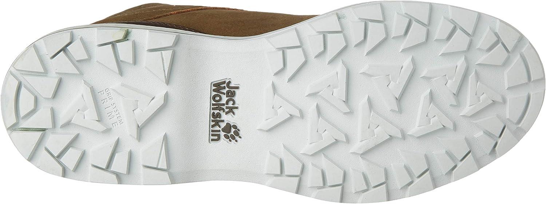 Jack Wolfskin Jack Ride Texapore Mid W Wasserdicht, Bottes Rangers Femme Beige Sand Off White 5214