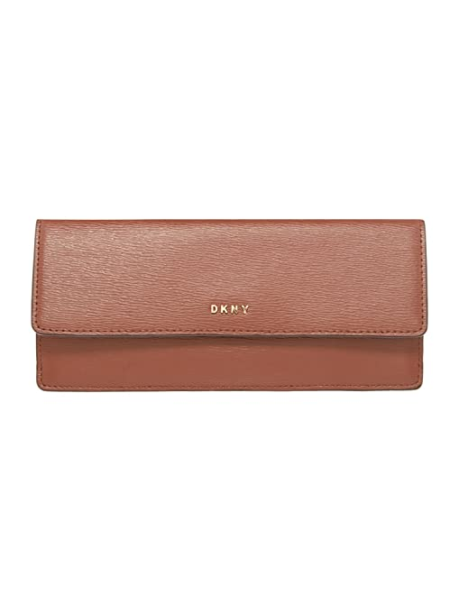 DKNY - Cartera para mujer Marrón marrón Medium: Amazon.es ...